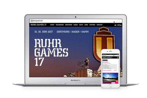 Ruhr Games-Website