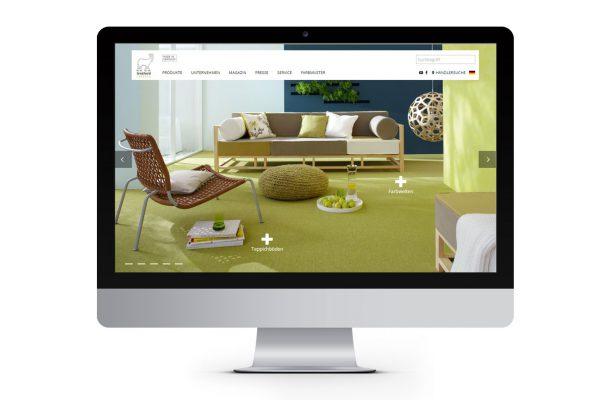 tretford Teppiche-Website