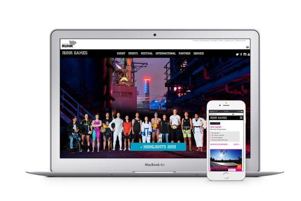 Ruhr Games-Website